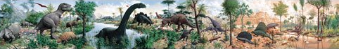 Age of Reptiles - mural by Rudolph Zallinger