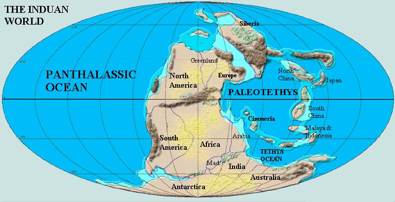 Palaeos mesozoic early triassic induan the geography of the induan gumiabroncs Image collections