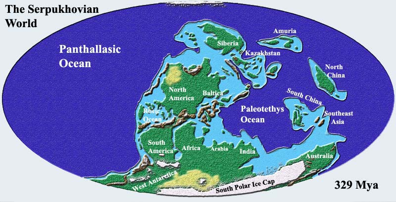 The Paleozoic Earth Chronozoom Bighistorylabs