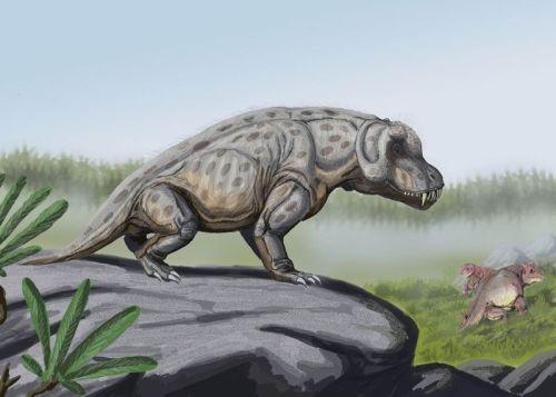 http://palaeos.com/vertebrates/therapsida/images/Anteosaurus_in_landscape.jpg